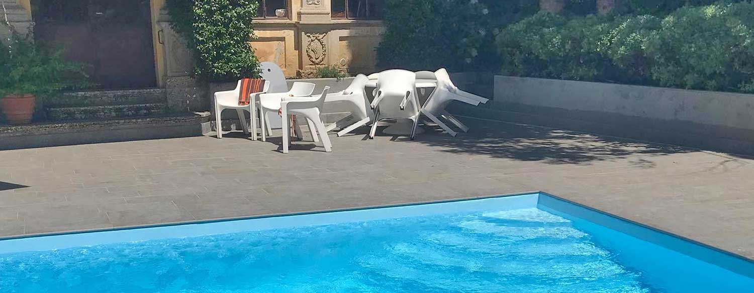 VILLA WITH POOL, BERGAMO