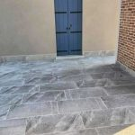 Lastre in pietra sinterizzata HARDSCAPE PORCELAIN Etna Light Grey cm casa Venezia