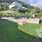 Casa-Lugano-con-piscina-in-pietra-sinterizzata-Colosseo-Barge-L'Altra-Pietra