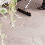 Pavimenti in pietra sinterizzata Cemento Taupe SUPER HARD KERAMIK 3 CM