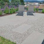 Lastre in pietra sinterizzata L'ALTRA PIETRA Harena Calanca Light 40x120x2 cm villa con terrazza
