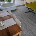 Pavimenti in pietra sinterizzata OUTDOOR WOOD 2 CM HArena Holz Grigio 40x120x2 cm