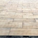 Pavimenti in pietra sinterizzata OUTDOOR WOOD 2 CM HArena Holz Noce 40x120x2 cm